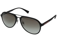 Prada Linea Rossa 0Ps 05Rs Black Rubber Grey Gradient