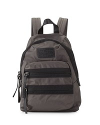 Domo Arigato Mini Packrat Nylon Backpack Faded Aluminum Marc By Marc Jacobs