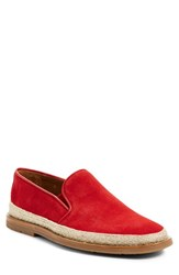 Aquatalia By Marvin K Men's Aquatalia 'Zayn' Espadrille Red Suede