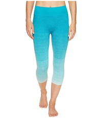 Brooks Streaker Capris Sky Tile Women's Capri Blue