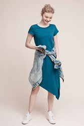 Holding Horses Cecily T Shirt Dress Turquoise Blue