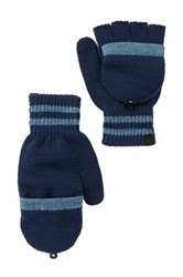 Timberland Pop Top Convertible Gloves Blue