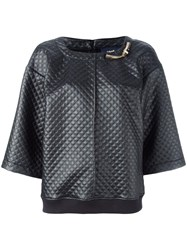 Class Roberto Cavalli Quilted Top Black