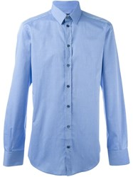 Dolce And Gabbana Classic Shirt Blue
