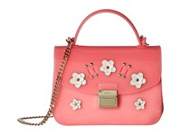 Furla Candy Lilla Sugar Mini Crossbody Rose Petalo Cross Body Handbags Pink