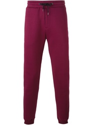 Kenzo Tapered Track Pant Pink And Purple