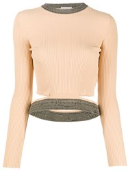 Mrz Cropped Ribbed Top 60