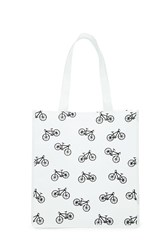 Forever 21 Bicycle Print Shopper Tote