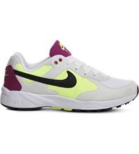 Nike Air Icarus Trainers White Black Fuchsia