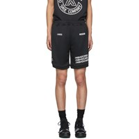 Neighborhood Black Converse Edition Mesh Shorts
