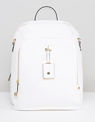New Look Hatch Backpack White