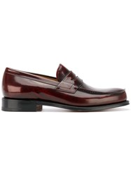 Church's Classic Loafers Men Leather 9 Red
