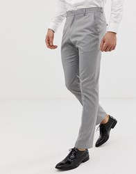 Selected Homme Slim Suit Trouser In Grey