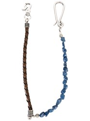 Andrea D'amico Chains Necklace Blue