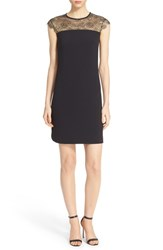 Women's Ted Baker London 'Lorenne' Lace Yoke Dress