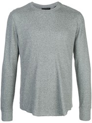 Vince Slim Fit Sweatshirt Grey