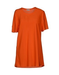 Philosophy Di Alberta Ferretti Blouses Orange