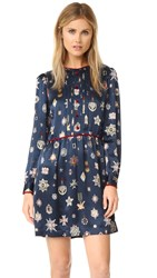 Hilfiger Collection Medal Dress Navy Blazer Multi