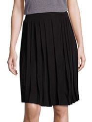Saks Fifth Avenue Plisse Skirt Black