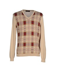 Royal Hem Knitwear Jumpers Men Sand