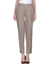 Pierantonio Gaspari Trousers Casual Trousers Women Dove Grey