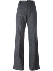 Wood Wood 'Patricia' High Waisted Trousers Grey