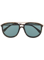 Zadig And Voltaire Aviator Shaped Sunglasses Black