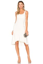 Amanda Uprichard Parker Dress Beige