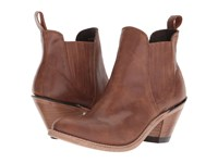 Old West Boots Gored Ankle Boot Brown Cowboy