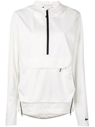 Nike Sail Hooded Jacket Women Polyester L White