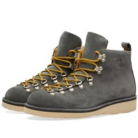 Fracap M120 Natural Vibram Sole Scarponcino Boot Grey