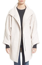 Women's Ayr 'The Little Lamb' Wool Cocoon Coat