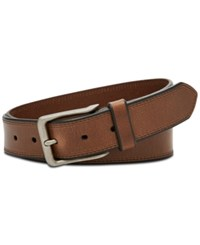 Fossil Men's Patrick Leather Belt Brown