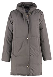 Noa Noa Down Coat Metal Anthracite