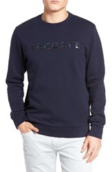 Lacoste Men's Crewneck Sweatshirt Navy Blue