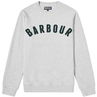 Barbour Prep Logo Crew Sweat Grey