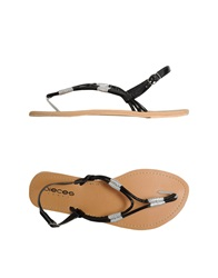 Pieces Thong Sandals