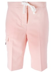 Thom Browne Tapered Shorts Pink Purple