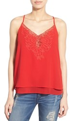Women's Dex Embroidered Double Layer Camisole