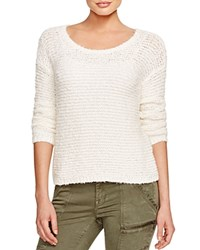 Joie Anias Chunky Knit Sweater Antique White