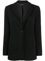 Armani Exchange Fitted Single Breasted Blazer 60