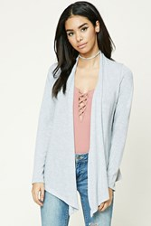 Forever 21 Open Front Draped Cardigan