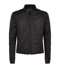 Dolce And Gabbana Zipper Jacket Male Black