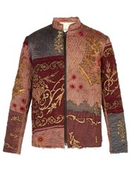 By Walid Ecclesiastical 18Th Century Silk Panel Jacket Multi