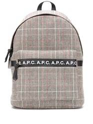 A.P.C. Tweed Logo Backpack 60