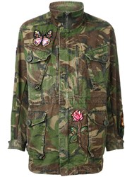 As65 Multi Patched Military Coat