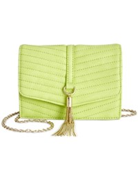 Inc International Concepts Mini Yvonn Crossbody Only At Macy's Citron
