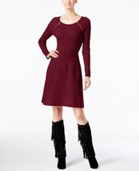 Inc International Concepts Fit And Flare Sweater Dress Only At Macy's Port