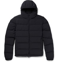Aspesi Apei Lim Fit Quilted Hell Down Jacket Navy
