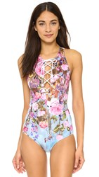 Clover Canyon Hanging Flowers One Piece Multi